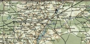 1942 Немецкая карта СССР, сборная карта