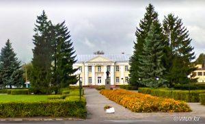 Памятник Ленину Почеп