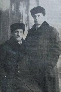 Менахем Гнесин и Наум Цемах в 1916 году. Menachem Gnessin and Nahum Zemach